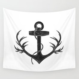 Antlered Anchor Wall Tapestry