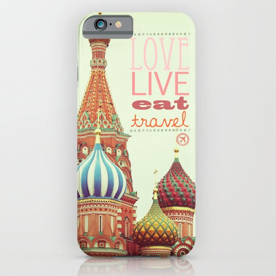 Love, Live, Eat, Travel iPhone & iPod Case