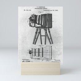 1885 Photographic camera Mini Art Print