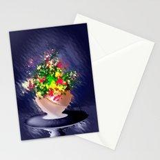 Ton und Blumen. Stilleben. Stationery Cards
