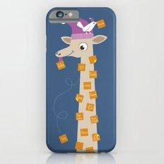 Note Giraffe iPhone 6s Slim Case