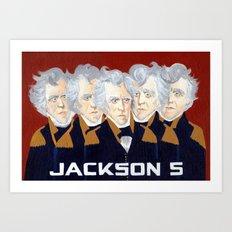 Jackson 5 Art Print