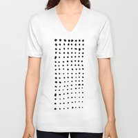 dots V-neck T-shirts featuring Dots by Geryes