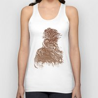starwars Tank Tops featuring StarWars Chewbacca by Burnish and Press