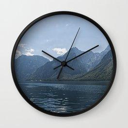 Bavaria - Koenigssee Lake Summer Alps Wall Clock
