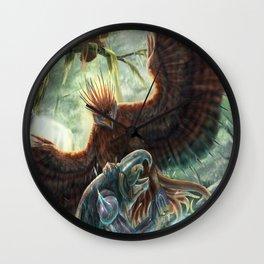 Scorpion Tailed Hawk Wall Clock