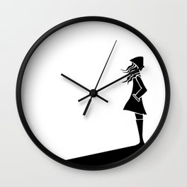 The Drive Home Wall Clock