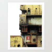 industrial Art Prints featuring Industrial by mimifaktur