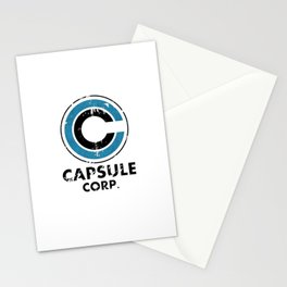 Capsule Corp Vintage bright Stationery Cards