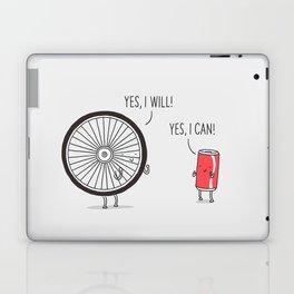 I will, I can Laptop & iPad Skin