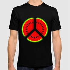 Watermelon Mens Fitted Tee X-LARGE Black