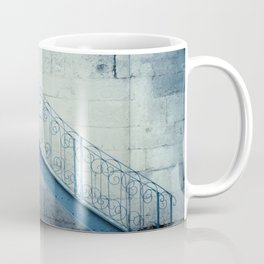 The blue stairs Coffee Mug