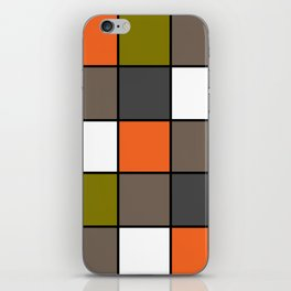 #Colorful #squares iPhone Skin