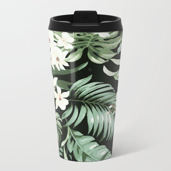 Jungle blush Metal Travel Mug