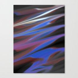 Smudged Colours 8 Canvas Print