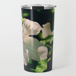 Lily blooming Travel Mug