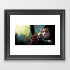 The Last Of Us: Ellie Framed Art Print