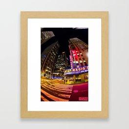 Radio City Music Hall Framed Art Print