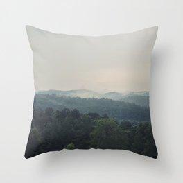 The Great Smoky Mountains Throw Pillow