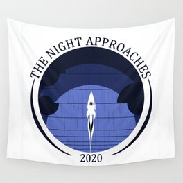 The Night Approaches Wall Tapestry