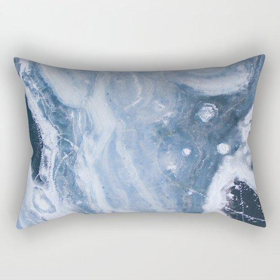 Earth blue Rectangular Pillow