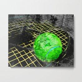 Tennis print work vs 8 Metal Print