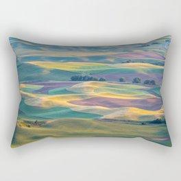 The Palouse at Sunset in Summer Rectangular Pillow