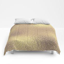 Simply Metallic in Antique Gold Comforters
