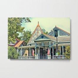 American Victorian House Metal Print