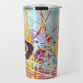 Abstract Landscape Travel Mug