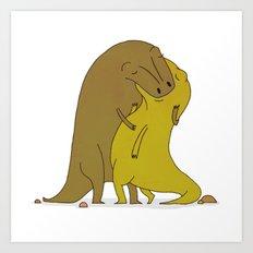 tyrannosaurus sex Art Print