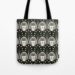 Fringe and Flowers Tote Bag