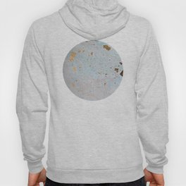 Blue & Gold Leaf Hoody