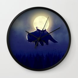 The End of All Things - Night Version Wall Clock