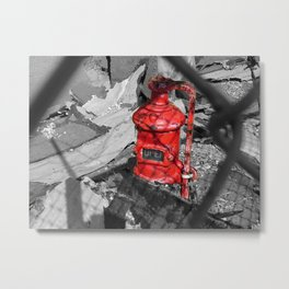 Old Fire Hydrant Metal Print