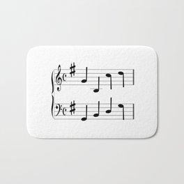 Music Chord Bath Mat
