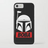 boba iPhone & iPod Cases featuring Defy-Boba by IIIIHiveIIII