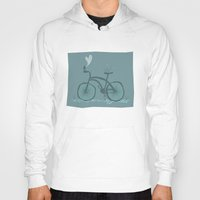 bicycle Hoodies featuring Bicycle  by Anita Ivancenko