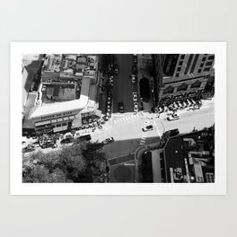 Chicago Intersections Art Print