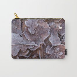 Fallen Oak Leaves Autumn Scene #decor #society6 #buyart Carry-All Pouch