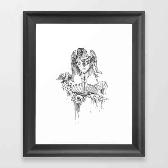 sweet with out the sour Framed Art Print