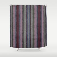 baroque Shower Curtains featuring Baroque lines by Tony Vazquez
