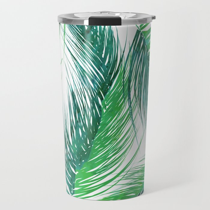 Bed Head Palm | #society6 #decor #buyart Travel Mug