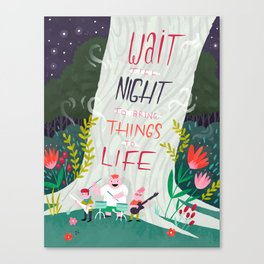Wait 'till Night Canvas Print