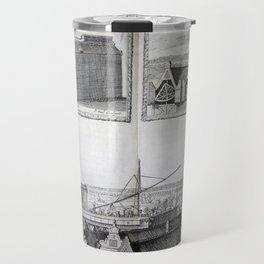 Johannes Hevelius - Celestial Devices, Part 1 - Plate 3 Travel Mug