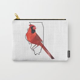 Illinois – Northern Cardinal Carry-All Pouch