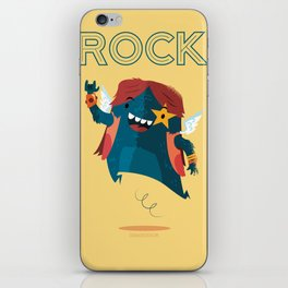 :::Rock Monster::: iPhone Skin