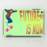 marty mcfly iPad Cases featuring Marty Mc 360Flip by Jon Osés