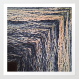 Ocean Drop Art Print