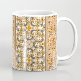 Boho Floral Fantasy Pattern Coffee Mug